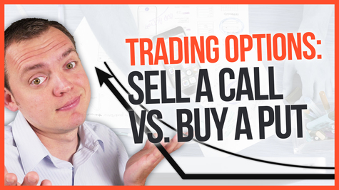 Option trading selling a call